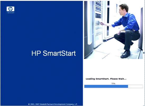 HP服务器系统安装